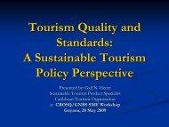 Tourism Quality and Standards - Caribbean Tourism Organization