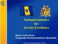 National Initiative for Service Excellence - Caribbean Tourism ...