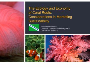Coral Reef Alliance, CORAL - Caribbean Tourism Organization