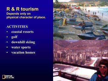 R & R tourism - Caribbean Tourism Organization