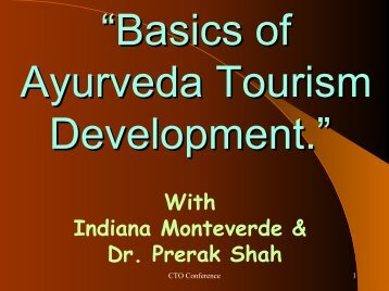 Seminar 1 The Art of Life & Ayurveda Introduction to Panchkarma