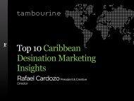 Top 10 Caribbean Destination Marketing Insights