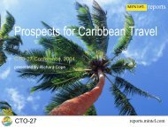 Prospects for Caribbean Travel, CTC 27, 2004 ~ Richard Cope of ...