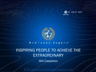 inspiring people to achieve the extraordinary - Caribbean Tourism ...