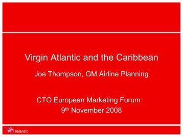 case study on virgin airlines Session title: how understanding the customer's experience has led to innovative services that encourage more people to fly virginjoe ferry, head of design at virgin atlantic airways spent 10 minutes talking us through the recent design challenges he's faced during the last few years.