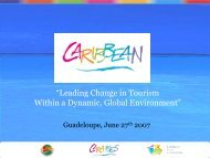 """""""Leading Change in Tourism Within a Dynamic, Global Environment"""""""