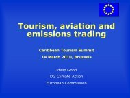 Tourism, aviation and emissions trading - Caribbean Tourism ...