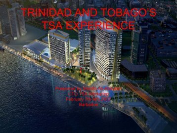 Trinidad and Tobago's Experience - Caribbean Tourism Organization