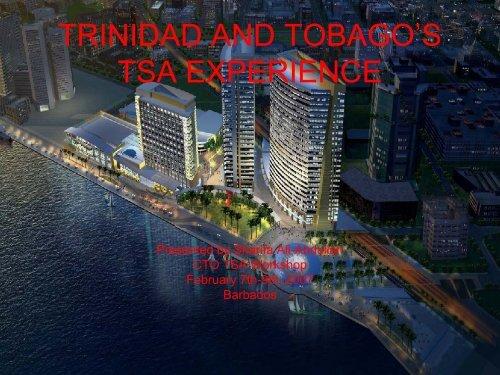 Trinidad and Tobago's Experience - Caribbean Tourism Organization