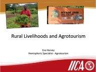Rural Livelihoods and Agrotourism - Caribbean Tourism Organization