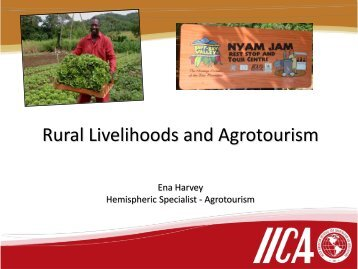 Rural Livelihoods and Agrotourism - Caribbean Tourism Organization