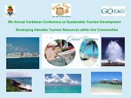 9th Annual Caribbean Conference on Sustainable Tourism