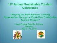 STC-11- Rapporteur's Report - Caribbean Tourism Organization