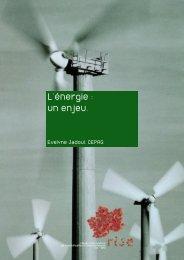 L'énergie : un enjeu. - RISE
