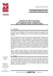 Les accords de branche en Région wallonne - RISE