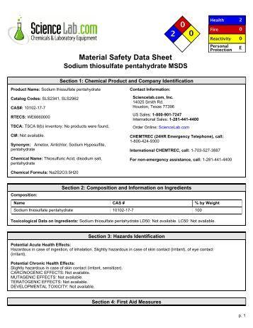 Cyanco 174 Sodium Cyanide Solution 2 Or Less En Msds