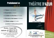 Théâtre d'Azur - Lycée Roland Garros