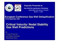 The Effects of Surface Restrictions on Liquid Loaded Gas ... - ALRDC