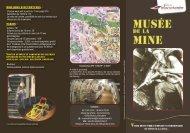 Plaquette Musée de la Mine - Ville de Bruay-La-Buissière
