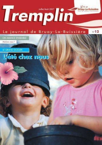 tremplin juillet_août 2007 - Ville de Bruay-La-Buissière