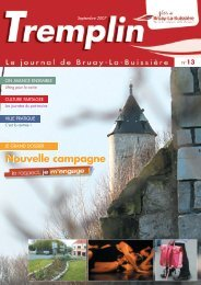 tremplin septembre 2007 - Ville de Bruay-La-Buissière