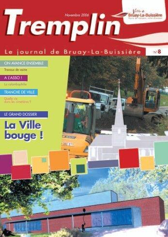 tremplin - novembre 2006 - Ville de Bruay-La-Buissière