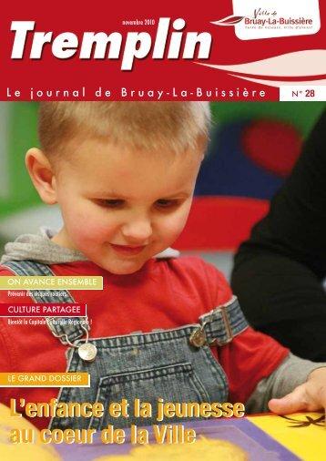 Tremplin n°28 - novembre 2010 - Ville de Bruay-La-Buissière