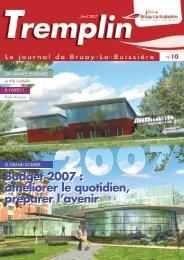 tremplin avril 2007 - Ville de Bruay-La-Buissière