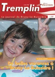 Tremplin juillet 2008 - Ville de Bruay-La-Buissière