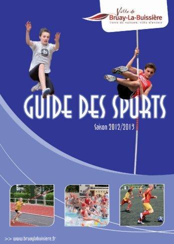 guide des sports 2012 - Ville de Bruay-La-Buissière