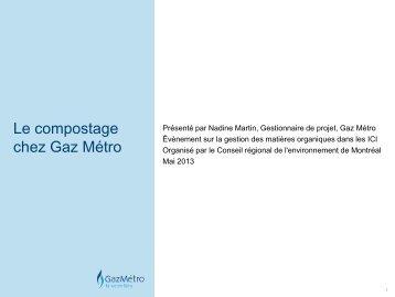 Lien vers la présentation en PDF - Conseil régional de l ...