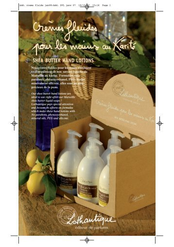 Add. creme fluide jan08:Add. SVL janv 07 - FUEGO Lifestyle