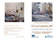 du 5 au 26 septembre 2009 - IAE Aix-en-Provence