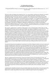 Le champ géoéconomique : une approche épistémologique - cergam