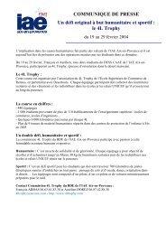 le 4L Trophy - IAE Aix-en-Provence