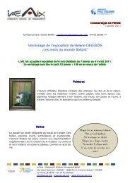 CdP Vernissage H Delebois IAE Aix 2010 - IAE Aix-en-Provence