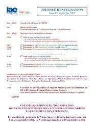 JOURNEE D'INTEGRATION - IAE Aix-en-Provence