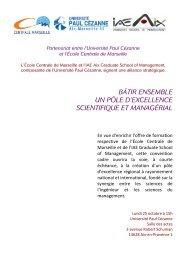 cdp iae ecole centrale 21 oct 2010 - IAE Aix-en-Provence