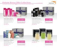 Perfume Bonus Offer Collections - Marias Healing Touch