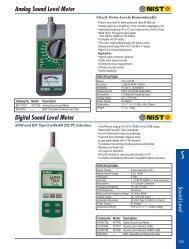 Sound Level Meter - Maxtech