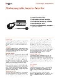 Electromagnetic Impulse Detector - Maxtech