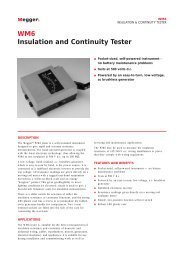 WM6 Insulation and Continuity Tester - Maxtech