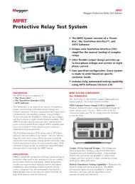 MPRT Protective Relay Test System - Maxtech