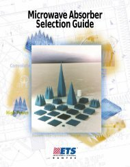 Microwave Absorber Selection Guide - Maxtech