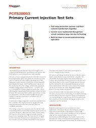 PCITS2000/2 Primary Current Injection Test Sets - Maxtech