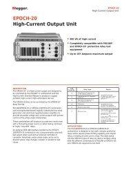 EPOCH-20® High-Current Output Unit - Maxtech