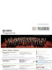 02/2012 Programme - Philharmonie Luxembourg