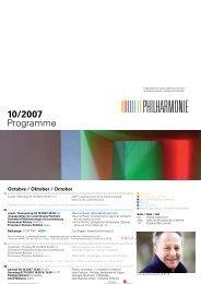 Télécharger PDF - Philharmonie Luxembourg