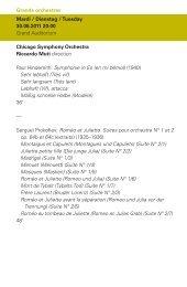 programmer - Philharmonie Luxembourg