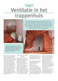 Ventilatie in het trappenhuis